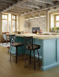 Amisco   Furniture   Kitchen   Harp Stool