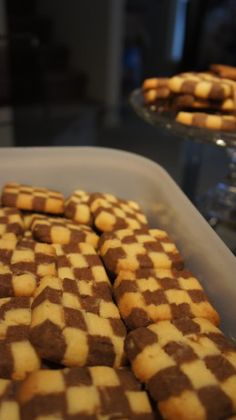 Pinwheels and Checkerboard Cookies