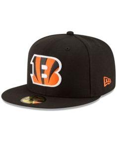 New Era Cincinnati Bengals Team Basic 59FIFTY Cap - Black 7 1/8