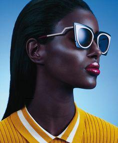 Models Of Color- Senait Gidey by Sebastian Mader for Glamour US April 2015