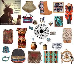 """Native Tribal"" by carolwatergirl on Polyvore"