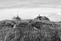 houses in the dunes