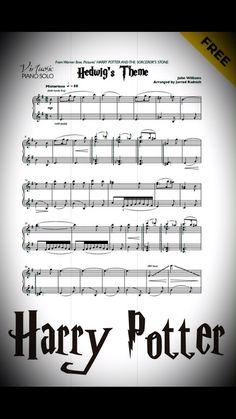 Hedwig's Theme piano sheet music by John Williams, - Hande Waschen Kindergarten Piano Music With Letters, Beginner Piano Music, Classical Piano Music, Piano Music Notes, Easy Piano Sheet Music, Music Theory Piano, Music Theory Games, Music Theory Lessons, Sheet Music Pdf