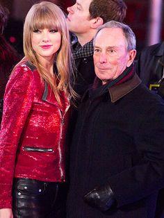 Taylor Swift & New York City Mayor Michael Bloomberg   Billboard
