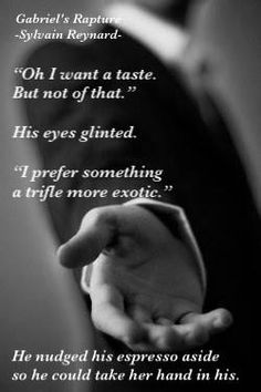 """By @GIFansFilipino    """"Thank you for last night and this morning."""" #GabrielsRapture @sylvainreynard"""