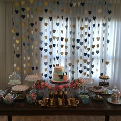 Canal Meu Dia D - É Dia D Chá-Bar Diy Birthday, Birthday Party Decorations, Birthday Parties, Wedding Decorations, Cha Bar, Its My Bday, Ideas Para Fiestas, Fiesta Party, Open House