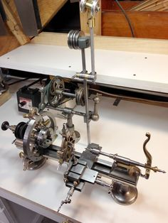 MOWRER WW LATHE TOOLS: The fully dressed watchmakers lathe