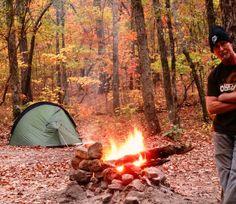Pine Mt. Georgia campsite