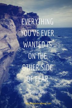 Everything you've ever wanted is on the other side of fear. Home Business/Online Marketing/ Lifestyle http://MyLifestyleAcademy.com http://Facebook.com/MyLifestyleAcademy