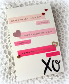 Ombre Valentine by melissa1872 - Cards and Paper Crafts at Splitcoaststampers