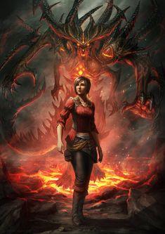 ArtStation - Diablo 3 - Anniversary, Deiv Calviz (David Villegas)