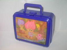 """Aladdin """" Treasure Trolls """" Treasure Trolls Lunch Box. Starting at $3"""