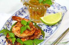 The Café Sucré Farine: Pan-Seared & Blackened Shrimp w/ Marmalade Dipping Sauce