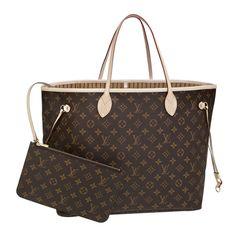 Louis Vuitton Handbags #Louis #Vuitton #Handbags - Neverfull GM - $251.99
