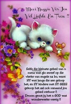 Lekker Dag, Goeie Nag, Afrikaans, Night, Lilac, Poems, Cottage, Quotes, Quotations