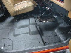 rhino liner the cab floor