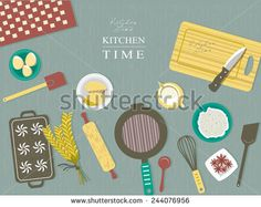 Flat Design Baking Stock Photos, Images, & Pictures   Shutterstock
