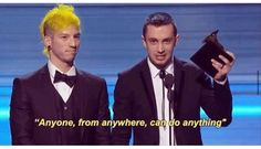"""..and this is that"" josh dun 
