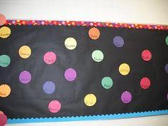 Polka Dots and Stripes Themed Classroom