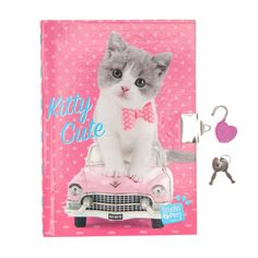 <P>Here at Claire's we are obsessed with these cute pets brought to us by Studio Pets! The latest addition to the mini animals family is this cute Kitty featured on this adorable lock diary</P> - <P><STRONG>Padlocked Journal </STRONG>by<STRONG> Studio Pets</STRONG></P> - <UL> - <P> - <LI>Exclusively at Claire's  - <LI>Suitable for children aged 3+  - <LI>Scan the QR code on the label to watch the cute animals come to life  - <LI>Lined paper  - <LI>A5</LI></UL>