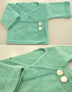 Amazing Knitting provides a directory of free knitting patterns, tips, and tricks for knitters. Free Baby Sweater Knitting Patterns, Knit Baby Sweaters, Knitting For Kids, Free Knitting, Free Childrens Knitting Patterns, Kimono Pattern Free, Free Pattern, Baby Kimono, Creative Knitting