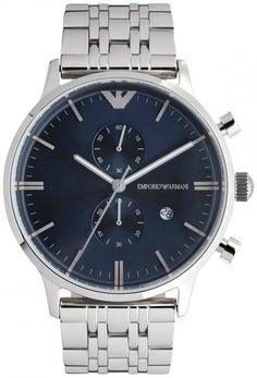 Emporio Armani AR1648 Classic Blue Dial Men's Watch