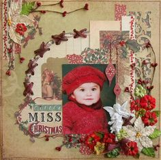Little Miss Christmas - Two Peas in a Bucket
