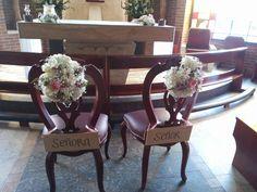 sillas novios seminario san lorenzo de cota