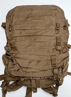FILBE USMC Main Pack Coyote Brown with Frame and Waist Belt *** Learn more by visiting the image link. (This is an affiliate link) #CampingBackpacks