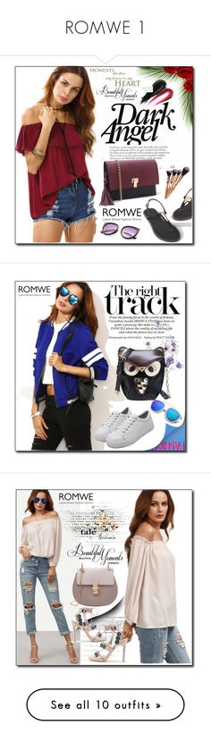 """""""ROMWE 1"""" by woman-1979 ❤ liked on Polyvore featuring Tiffany & Co. and Grace"""