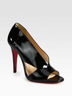 ShopStyle by POPSUGAR: Christian LouboutinCreve Couer Patent Leather Sandals