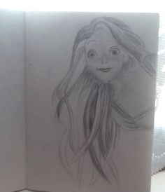 My favourite disney princess! Yet to be finished, ideas for someone on the opposite page? Tell me :)
