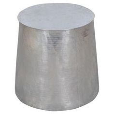 Tempered Metal Cylinder Side Table and other furniture & decor products. Browse and shop related looks. Metal Side Table, Round Side Table, Metal Cylinder, Sofa End Tables, Drum Table, Joss And Main, Home Furnishings, Home Furniture, Modern
