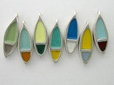 Color. #glassonmetal #vitreousenamel #enameljewelry #markpoulin