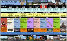 How to Create a #Disney Trip Planning Spreadsheet -  this guys' spreadsheet is uh-may-zing and he offers some great tips on how to build your own!