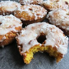 Sweet potato doughnut