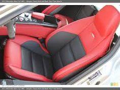 Resultado de imagen de sls black red interior