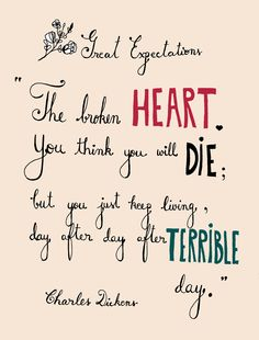 Charles Dickens - Great Expectations #quotes #dickens