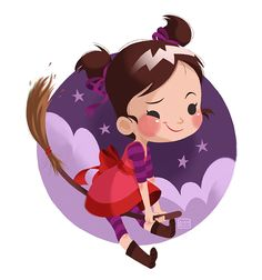 Illustrations for Kids by Pamela Barbieri, via Behance