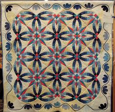 Quilt Inspiration: February 2013  Wedding Star by Tammy Zanella