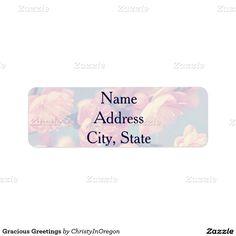 Gracious Greetings Label