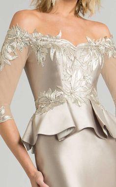 Feriani Couture 18574 Fall 2017 evening mother of the bride dress. - Mother of the Bride Dresses - Feriani Couture 18574 Fall 2017 evening mother of the bride dress. - Evening Dresses - Feriani Couture 18574 Fall 2017 evening mother of the bride dress. Mob Dresses, Formal Dresses, Couture Dresses, Fashion Dresses, Long Mermaid Dress, Trumpet Dress, Trendy Fashion, Womens Fashion, Ballroom Dress