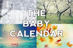 THE BABY CALENDAR Baby Calendar, Real Talk