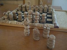 #Corkchess. A little project we did using Fikardos Winery corks