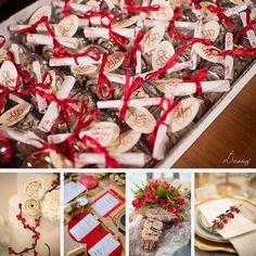 Bold Christmas Wedding | da CartaForbiciGatto