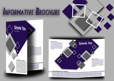 A pack of free business brochure templates by Tech Trainee. You won't find a part of any templates that is locked to edit & personalize. Design Desk, Business Brochure, Brochure Template, Templates, Flyer Template, Stencils, Booklet Template, Vorlage, Models