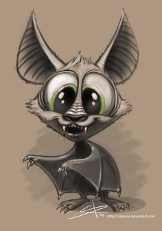 vampire bat- I would totally get this as a tatt!, Cartoon vampire bat- I would totally get this as a tatt!, Cartoon vampire bat- I would totally get this as a tatt! Cartoon Kunst, Cartoon Drawings, Animal Drawings, Cartoon Art, Cute Drawings, Drawing Sketches, Creepy Drawings, Vampire Drawings, Girl Cartoon