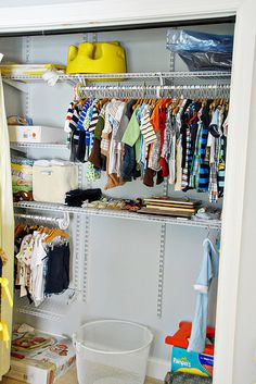 Many of ClosetMaid's products are adjustable—so even the little ones can reach their clothes!