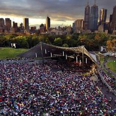 Melbourne Icons - Sidney Myer Music Bowl