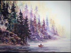 Deep Lake Paddler
